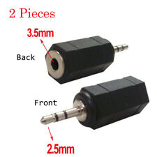 3.5mm female to 2.5mm male converter Jack Stereo AUX Audio Adapter earphone xbox