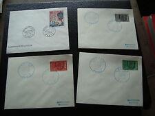 FRANCE - 4 enveloppes 1er jour 1964/1966 (cy75) french