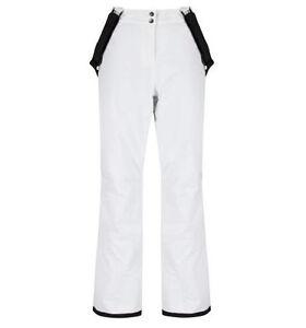 Womens DARE2B STAND FOR White Stretch Ski Pants Sizes SHORT LEG SIZE 20