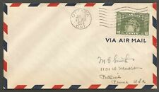 1934 FDC Airmail First Day Cover 10c United Empire Loyalists #209 Ottawa Ont
