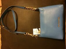 MICHAEL Michael Kors Bedford Crossbody (Color: Heritage Blue)