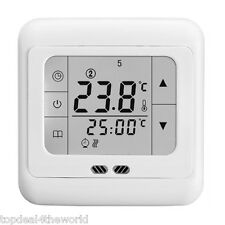 Digital Smart 16A LED Touch Screen Thermostat Programmable Heating Temp Control