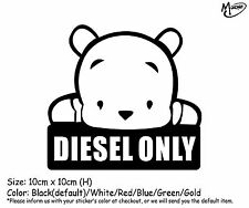 *DIESEL ONLY Reflective Funny Car  Truck  Boat Stickers Decals  best gift-