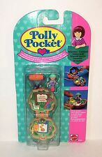 1991 POLLY POCKET Bluebird *CAMP DAYS LOCKET* Keepsake Necklace MOC NIP