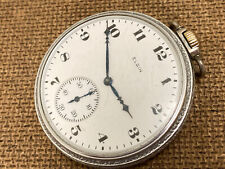 old pocket watch ELGIN  USA c 1933 15 jewels