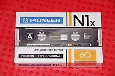 PIONEER  NIx   60   BLANK CASSETTE  TAPE  (1)     (SEALED)