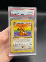 PSA 10 1st Edition Dragonite 19/62 Fossil Set Pokemon Card VINTAGE WOTC