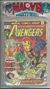 Marvel Multi Mags - 3 pack (1975)  Avengers 139, Jungle Action 17, Conan 54