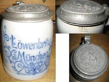 Bier Brauerei München Löwenbräu sehr alt Originaldeckel Aktienbrauerei