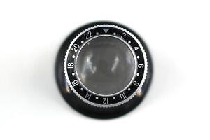 Lens Monocle 00 Tokyo Luxury Dial GMT 2x Magnification offer Salt Black NEW