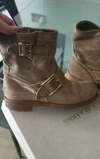 Authentic Jimmy Choo Biker Boots size 3.5/35.5