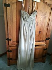 Belsoie L3017X Champagne Bridesmaid Dress (Size 12) - New With Tags