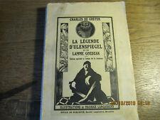 La Légende d'Ulenspiegel et de Lamme Goedzak DE COSTER 1924