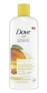 DOVE NOURISHING SECRETS BUBBLE BATH MANGO AND ALMOND 23 OZ