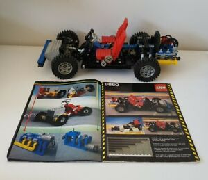 Lego 8860 Car Chassis Vintage Technic with Instructions
