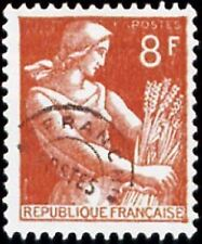 """FRANCE PREOBLITERE TIMBRE STAMP N° 108 """" MOISSONNEUSE 8F """" NEUF (x) TB"""