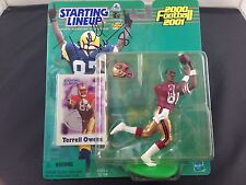 TERRELL OWENS Krenner's 2000 Starting Lineup San Francisco 49ers Autographed