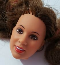 "Kenner Star Wars Princess Leia 12"" Action Figure Doll Head Only For Ooak Replace"