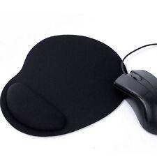 Tapis de Souris Avec Repose Poignet Gel Confort Ordinateur PC Portable Noir