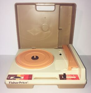 Vintage 1978 Fisher Price Record Player Turntable 825 Tested Working