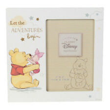 Disney Let the Adventures Begin Pooh Frame (4x6) Comes In A Branded Gift Box