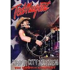 TED NUGENT Motor City Mayhem DVD BRAND NEW NTSC Region ALL