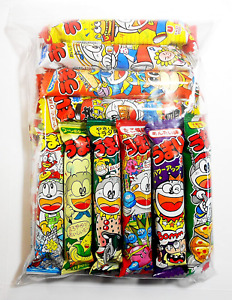 Umaibo Japanese Corn Puffed Snacks Variety Pack 10 Flavors, 20 Count