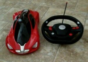 SPEED Lights Up Red/Black 27 MHz Remote Battery Control Sport Car Pristine Cond.