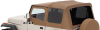 SPICE 88-95 soft top Jeep Wrangler FOR HALF DOORS by R 99417