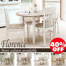 Oval Table & Chair Sets with Additional Leaves