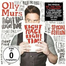Right Place Right Time 0888837848527 by Olly Murs CD With DVD