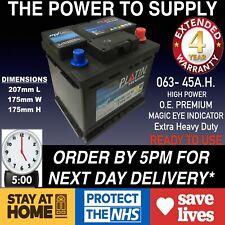 ROVER 25 45 100 200 400 1.4 1.6 CAR BATTERY 063 12V HEAVY DUTY MAINTENANCE FREE