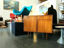 Teak Sideboard/ Record Cabinet With Draw -  Retro Mid Century Eames Parker Style