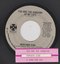 MORGANA KING {70s Pop Vocal Jazz} You Are The Sunshine.. / A Song For You ♫HEAR