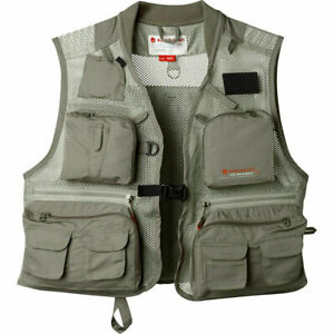 Redington First Run Fishing Wading Vest - Grit Terra Color Size L/XL or 2XL/3XL
