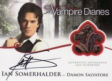 Vampire Diaries Season 2 Ian Somerhalder as Damon A3 Auto Costume Card