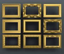 3d STL models for CNC, Artcam, Aspire, foto frames