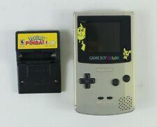 Nintendo Pokemon Gameboy Color Pikachu Pichu Gold Silver Edition Pinball Game