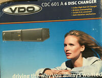 VDO CDC 601 A 6 DISC CHANGER BRAND NEW IN ORIGINAL BOX UK SELLER