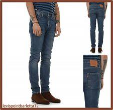 jeans levis 501 slim fit skinny elasticizzato denim levi's nuovi w30 w32 w34 w36
