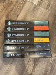 Starbucks Nespresso Pods 6 Pack Variety