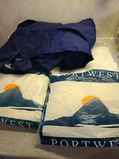 """2 X PORTWEST Style 806 Food Painter Boiler Suit White 38"""" Chest Overall 1X Blue"""