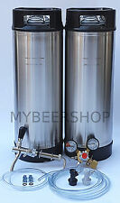 PRO BALL LOCK KEGGING KIT with ENTRY REGULATOR HOME BREW BEER KEG SYSTEM SET