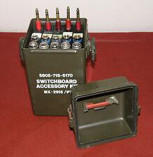 MILITARY SURPLUS Switchboard MX-2915/PT portable telephone FULL