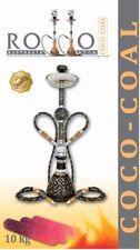 Rollo Coco Shisha Premium Charcoal Hookah Charcoal Nargila Coal 1KG 80 PIECES