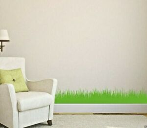 Wall Grass Decoration Art Vinyl Wall Stickers, DIY Home Wall Decal- HIGH QUALITY