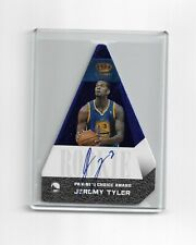 Autographed Jeremy Tyler 2012-13 Crown Royale Blue Rookie Card #565 #d 27/49
