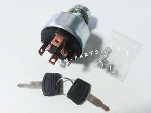 New Ignition Starter Switch with 2 Keys for Hitachi EX60 EX60G EX120 EX220