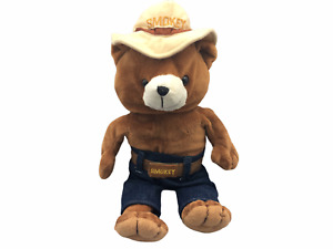 """Treasures Official Licensee Smokey The Bear 12"""" Stuffed Animal Plush Toy"""