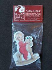 "VTG NOS Original Kathy Lawrence ""Little One's"" Die Cut FoldOut Christmas Garland"